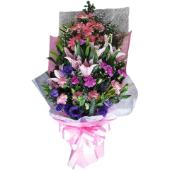 spring flowers bouquet. Send flower gift for Valentine's day, Anniversary, Birthdays to Makati City, Manila, Pasay, Caloocan, Taguig, Quezon City, Pasig by Philippine flower shop. Shop Online from reliable florist.