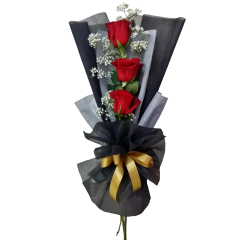 Bouquet roses by reliable online florist. Delivery service to Bonifacio Global City, Makati, Quezon City, Caloocan