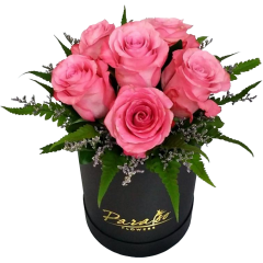 Box arrangement 6 Ecuador roses. Best Valentine's day gift. Flower delivery Manila, Flower delivery Quezon City, Flower delivery Paranaque, Flower delivery Taguig, Flower delivery Pasig, Flower delivery Mandaluyong, Flower delivery Caloocan. by Best Philippine flower shop.
