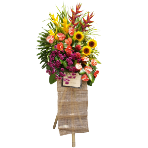Floral sprays for company events and openings. Online flower delivery Philippines.