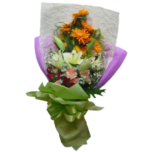 Express delivery bouquet of flowers by best Manila Flower shop, We deliver to Makati City, Pasig, Bonifacio Global City, Taguig, Quezon City.
